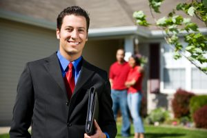 Home: Real Estate Agent Ready to Sell Home